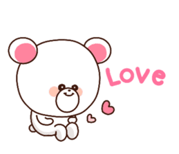 Bear to send When you become dear sticker #11197088