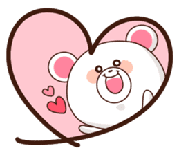 Bear to send When you become dear sticker #11197091