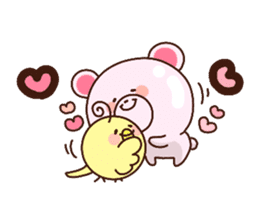 Bear to send When you become dear sticker #11197092