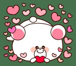 Bear to send When you become dear sticker #11197094