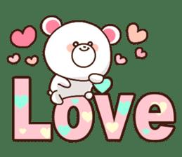 Bear to send When you become dear sticker #11197095