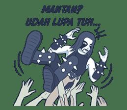 Anak Metal sticker #11202784