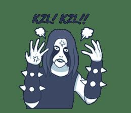 Anak Metal sticker #11202789
