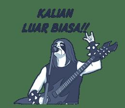 Anak Metal sticker #11202796
