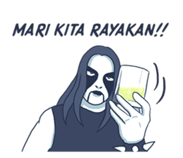 Anak Metal sticker #11202799