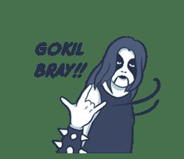 Anak Metal sticker #11202822