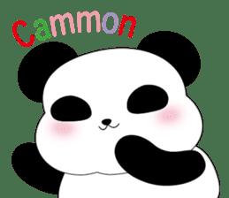 Mochi-Pand in English sticker #11208002