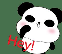 Mochi-Pand in English sticker #11208003