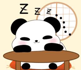 Mochi-Pand in English sticker #11208009