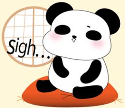 Mochi-Pand in English sticker #11208012
