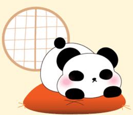 Mochi-Pand in English sticker #11208013