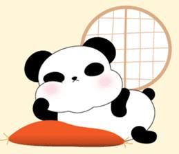 Mochi-Pand in English sticker #11208015