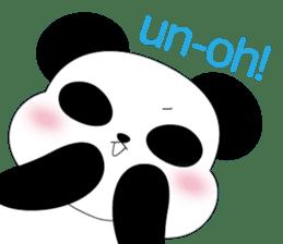 Mochi-Pand in English sticker #11208017