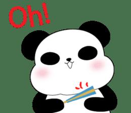 Mochi-Pand in English sticker #11208022