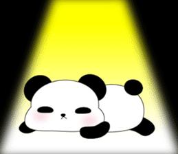 Mochi-Pand in English sticker #11208025
