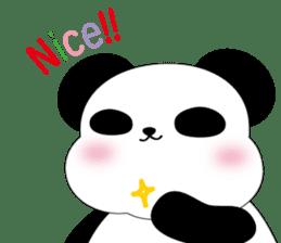 Mochi-Pand in English sticker #11208026