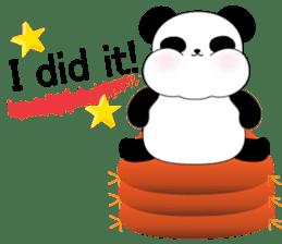 Mochi-Pand in English sticker #11208032