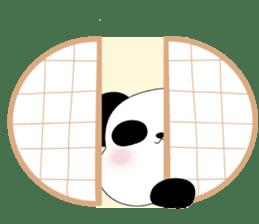 Mochi-Pand in English sticker #11208034