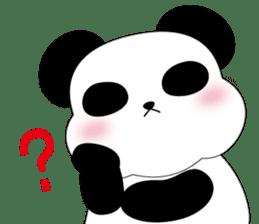 Mochi-Pand in English sticker #11208038