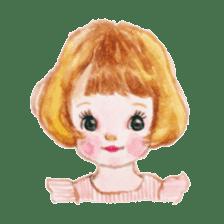 pretty Lily sticker #11213560