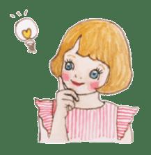 pretty Lily sticker #11213574