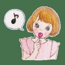 pretty Lily sticker #11213578