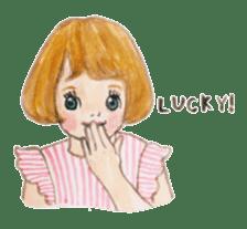 pretty Lily sticker #11213582