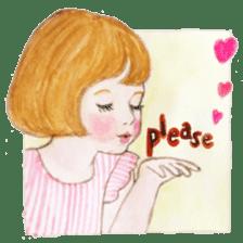 pretty Lily sticker #11213583