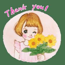 pretty Lily sticker #11213585