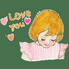 pretty Lily sticker #11213587