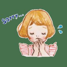 pretty Lily sticker #11213590
