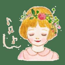 pretty Lily sticker #11213596