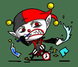 Jerry the Jester sticker #11215004