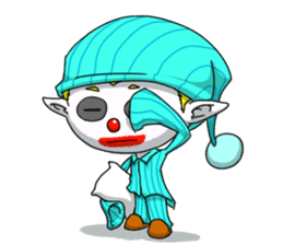 Jerry the Jester sticker #11215005