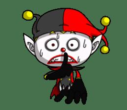 Jerry the Jester sticker #11215008