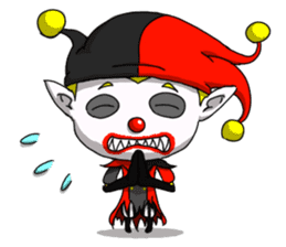 Jerry the Jester sticker #11215009