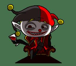 Jerry the Jester sticker #11215012