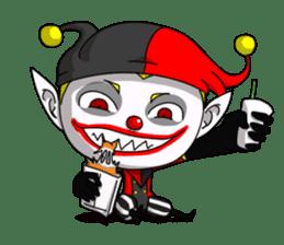 Jerry the Jester sticker #11215031