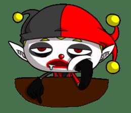 Jerry the Jester sticker #11215032
