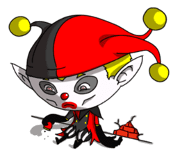Jerry the Jester sticker #11215033