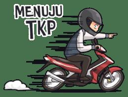 Si Tengil sticker #11221553