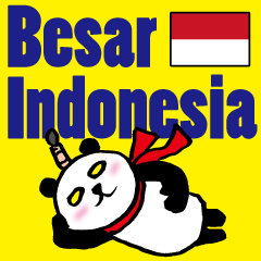 Easy Indonesian language (Panda Samurai)