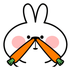 "Spoiled Rabbit ""Face2"" sticker #11233150"