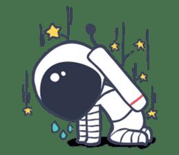 Jack The Astronaut sticker #11233872