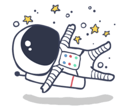 Jack The Astronaut sticker #11233873