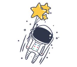 Jack The Astronaut sticker #11233875