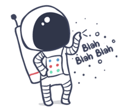 Jack The Astronaut sticker #11233876
