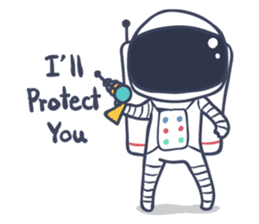 Jack The Astronaut sticker #11233880