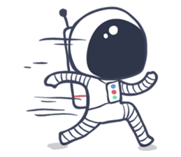 Jack The Astronaut sticker #11233882