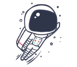 Jack The Astronaut sticker #11233883